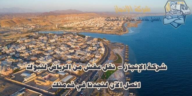 شركة نقل عفش من الرياض إلى تبوك والعكس 0582103320